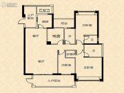 御海阳光4室2厅3卫180平方米户型图