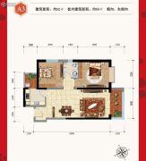 金科・阳光里2室2厅1卫82平方米户型图