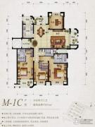 保利天骄4室2厅3卫193平方米户型图