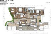 锦峰�Z玺4室2厅5卫218平方米户型图