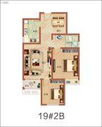 祝福红城2室2厅1卫0平方米户型图
