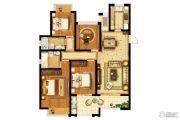 金隅紫京府4室2厅2卫135平方米户型图