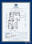 正丰・御景湖城3室2厅2卫0平方米户型图
