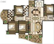 禹州御湖湾4室2厅2卫0平方米户型图