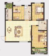 晖祥・江山3室2厅2卫123平方米户型图