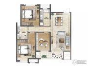 云鼎家园3室2厅1卫120平方米户型图