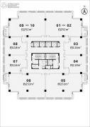 华隆广场1482平方米户型图