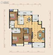南方梅园3室2厅2卫153--154平方米户型图