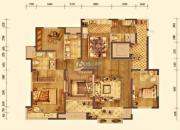 大华锦绣华城3室2厅3卫202平方米户型图