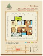 鑫源国际广场4室2厅2卫147平方米户型图