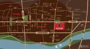 建业贰号城邦交通图