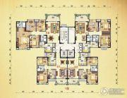 北流碧桂园4室2厅2卫0平方米户型图