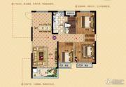 恒大帝景(备案名:聚亨景园)3室2厅1卫105平方米户型图
