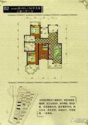 御龙仙语湾3室2厅2卫163平方米户型图