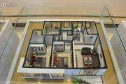 西站瑞都3室2厅2卫106--117平方米户型图