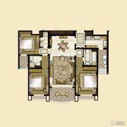 雅居乐・星河湾3室2厅2卫166平方米户型图