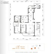 金茂广场5室2厅4卫311平方米户型图