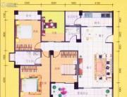 八桂凤凰城4室2厅2卫139平方米户型图