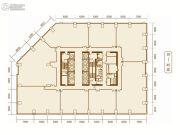 东方希望天祥广场2487平方米户型图