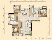 均瑶・御景天地4室2厅2卫135平方米户型图