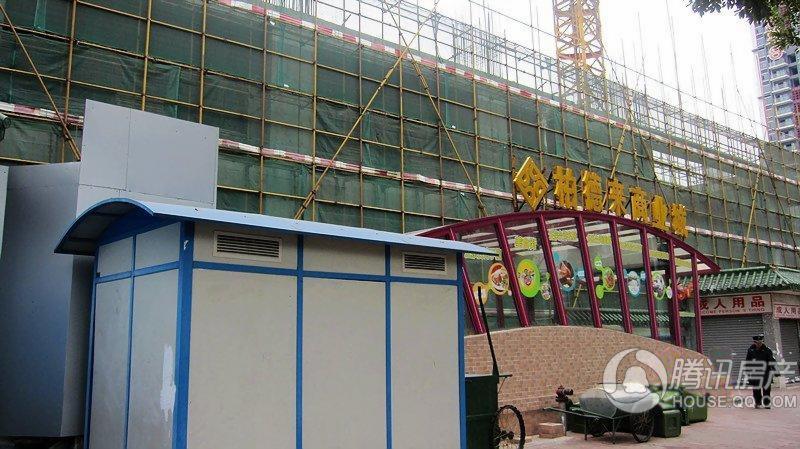 兴隆广场施工实景图20110316