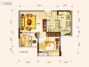 名流印象1室1厅1卫0平方米户型图