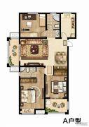 同科・汇丰国际3室2厅2卫130--135平方米户型图