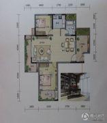 丽丰一品・泊景湾2室2厅1卫114平方米户型图