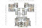保利国际广场86--131平方米户型图