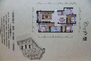高地・爱莲堡花园3室2厅2卫111平方米户型图