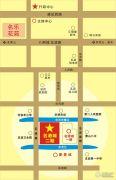 明华名港城二期交通图
