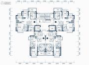 东莞恒大滨江左岸3室2厅1卫90平方米户型图