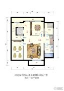 保利西山林语3室3厅4卫299平方米户型图