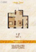 南开华府1室1厅1卫0平方米户型图