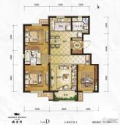万年・园博墅3室2厅2卫133平方米户型图