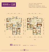 蒲韵尚都6室3厅3卫0平方米户型图
