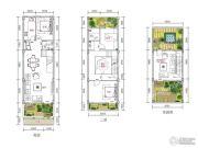 紫园4室2厅2卫160平方米户型图