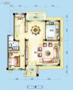 碧桂园假日半岛5室2厅3卫250平方米户型图