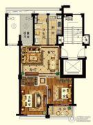长峙岛・香芸园2室2厅1卫83平方米户型图