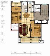 盛世森林花园3室2厅1卫116平方米户型图