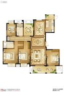苏高新天之运5室2厅2卫197平方米户型图