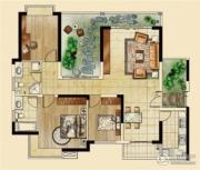 海客瀛洲3室2厅2卫142平方米户型图