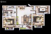 颐馨・湿地・壹�3室2厅1卫103平方米户型图