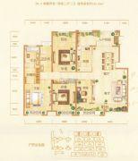 银基誉府4室2厅2卫181平方米户型图