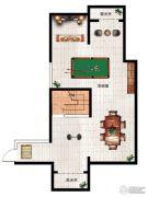 民安北郡1室1厅1卫99平方米户型图