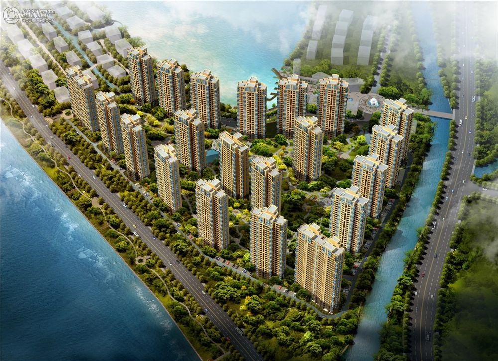 禹洲·天悦湾-高层鸟瞰图