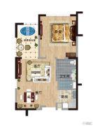 阅麓0室0厅0卫77平方米户型图