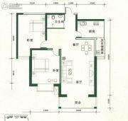 金汇广场2室2厅1卫101--102平方米户型图