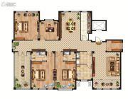 中正公馆4室2厅3卫266平方米户型图