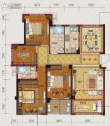 文居学府4室2厅2卫0平方米户型图